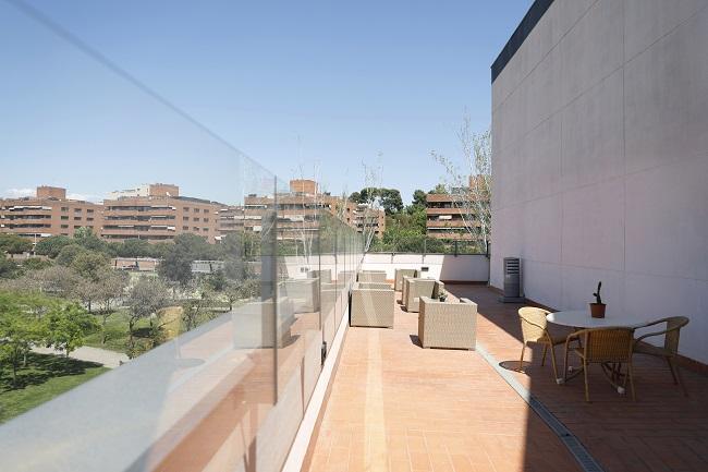 Residencia Sant Jordi Barcelona Terraza