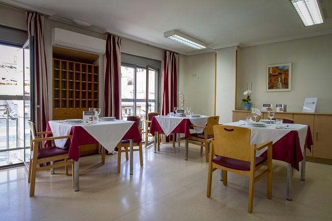 Residencia Stella Maris Santander Comedor