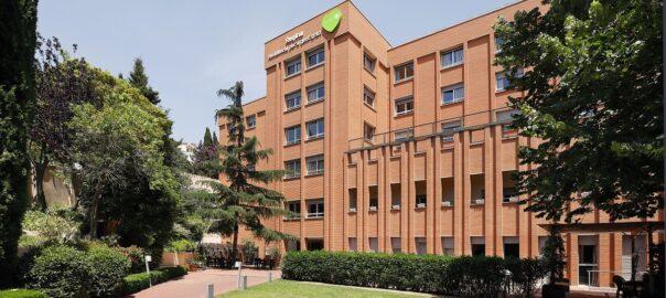 Residencia de mayores Barcelona Regina Fachada