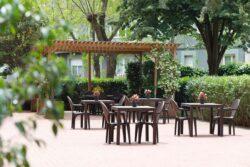 Residencia de mayores Barcelona Regina Jardín