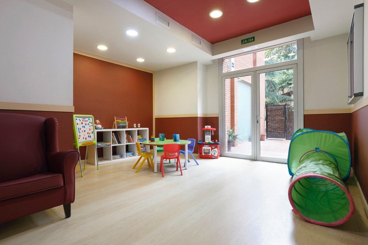 Residencia de mayores Barcelona Regina Rincón del nieto