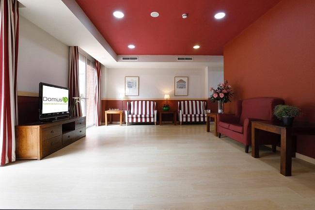 Residencia de mayores Barcelona Regina Sala de Tv