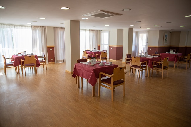 Residencia mayores Azalea Marbella Comedor