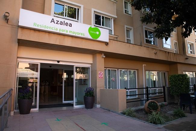 Residencia mayores Azalea Marbella Entrada