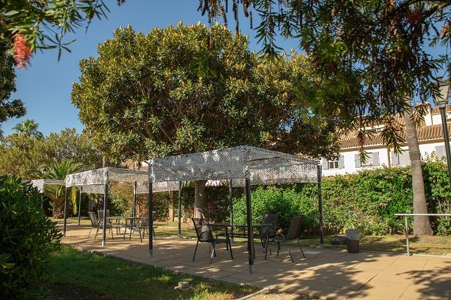 Residencia mayores Azalea Marbella Jardín2