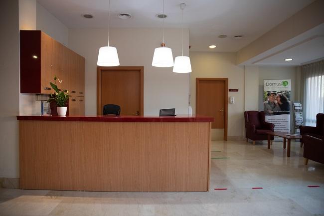 Residencia mayores Azalea Marbella Recepción