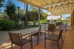 Residencia mayores Azalea Marbella Terraza
