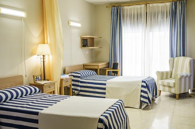 Residencia mayores Córdoba Remedios habitación doble
