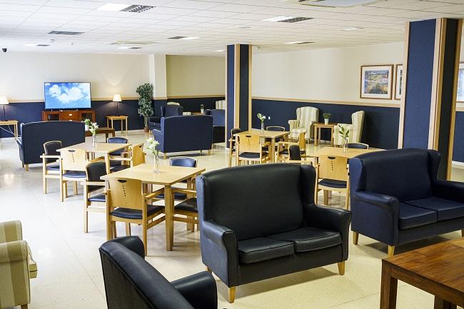 Residencia mayores Córdoba Remedios sala de terapia