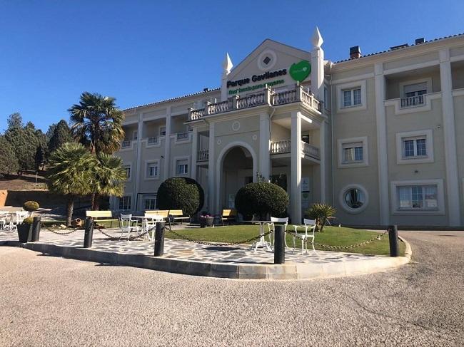 Residencia mayores Toledo Parque Gavilanes Fachada