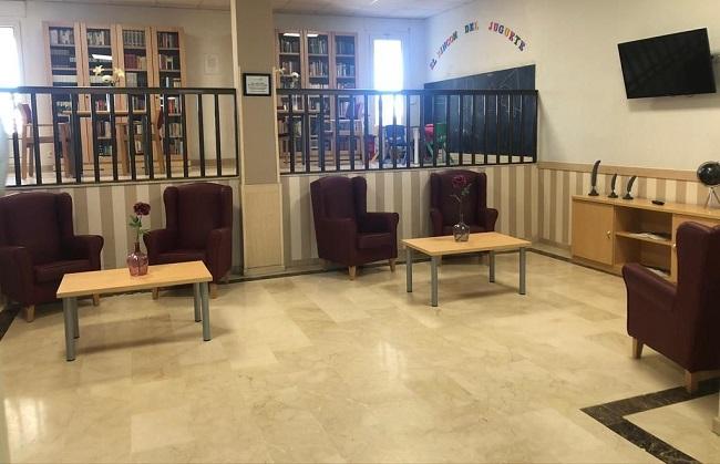 Residencia mayores Toledo Parque Gavilanes Sala de estar