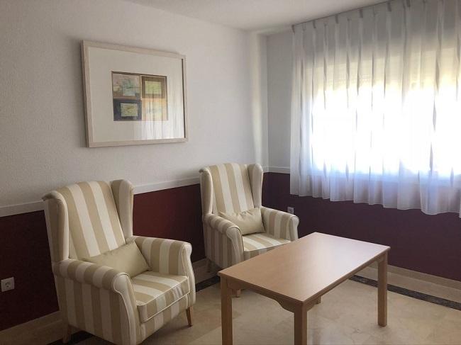 Residencia mayores Toledo Parque Gavilanes Sala de estar1
