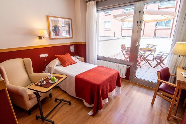 Residencia mayores Zamora Puerta Nueva Habitación Individual