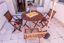 Residencia mayores Zamora Puerta Nueva Habitación terraza
