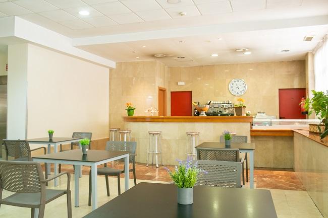 Residencia para mayores Albufera Madrid Cafetería
