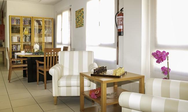 Residencia para mayores Albufera Madrid Sala de Estar1