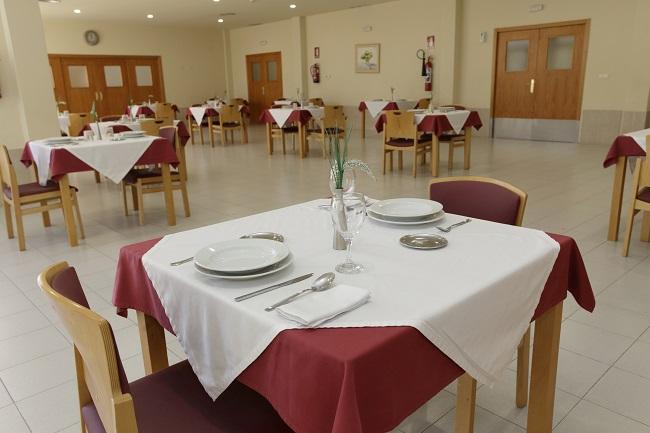 Residencia para mayores Huelva Monte Jara Comedor
