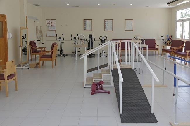 Residencia para mayores Huelva Monte Jara Gimnasio
