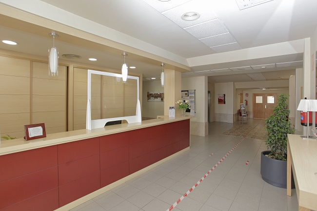 Residencia para mayores Huelva Monte Jara Recepción