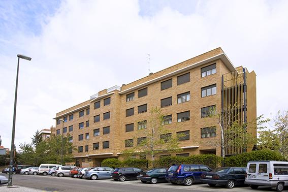 Edificio Residencia de ancianos Fontibre Zaragoza