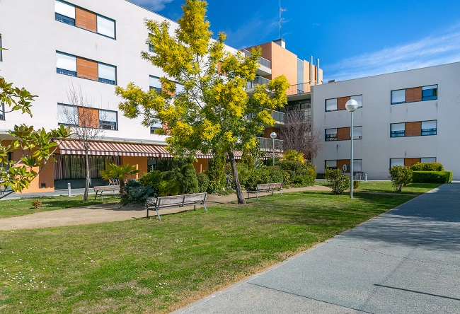 residencia de ancianos ciudad de móstoles, madrid