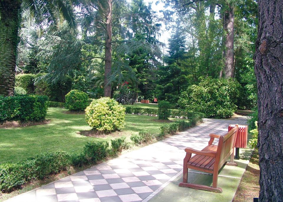 Nere borda  Parque botánico1