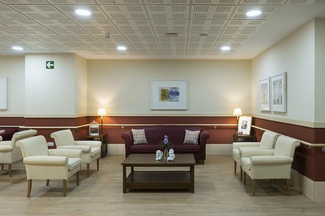 Residencia mayores Matogrande Sala de Visitas