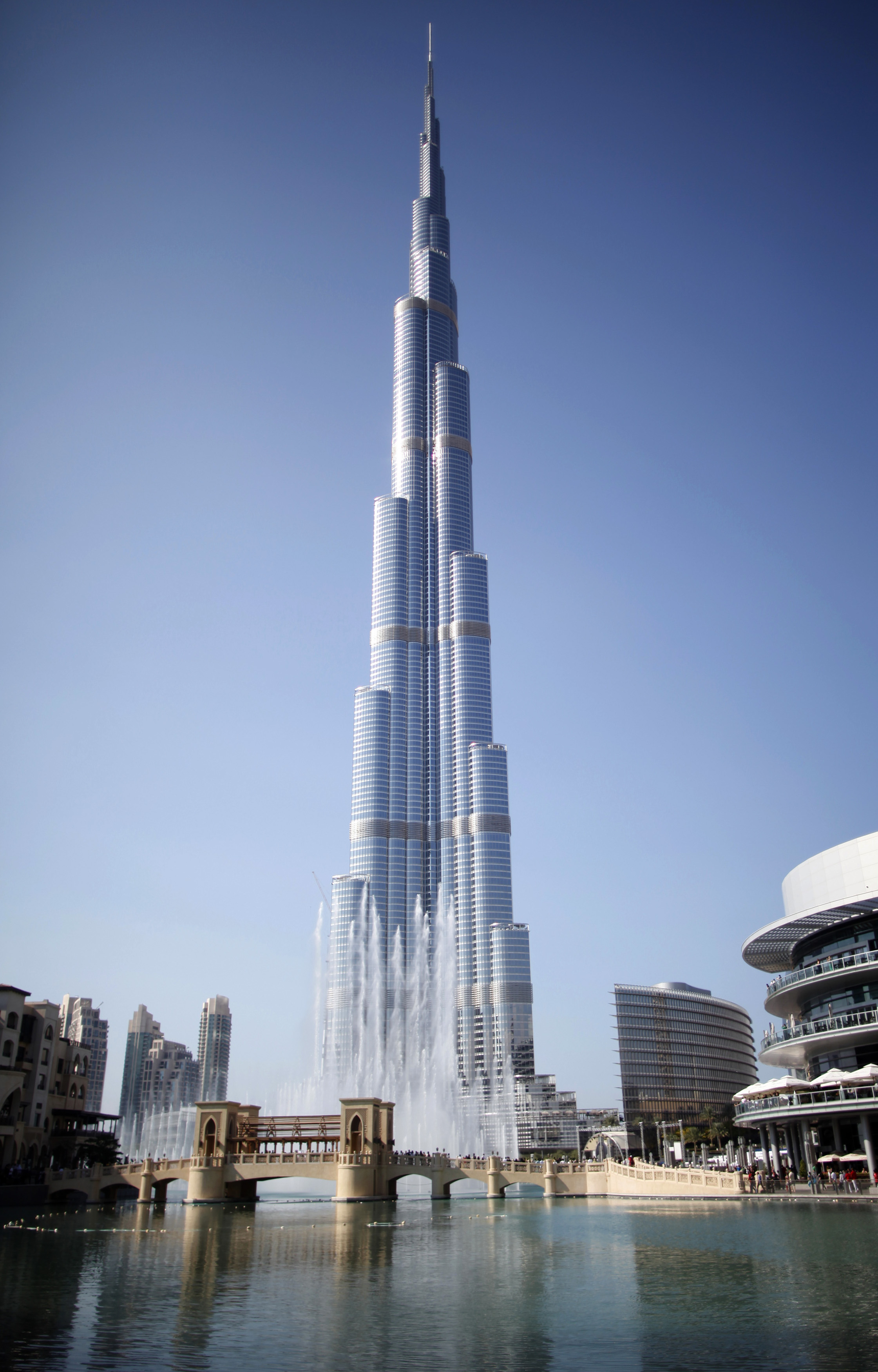 General view of Burj Khalifa, the world's tallest tower, in Dubai