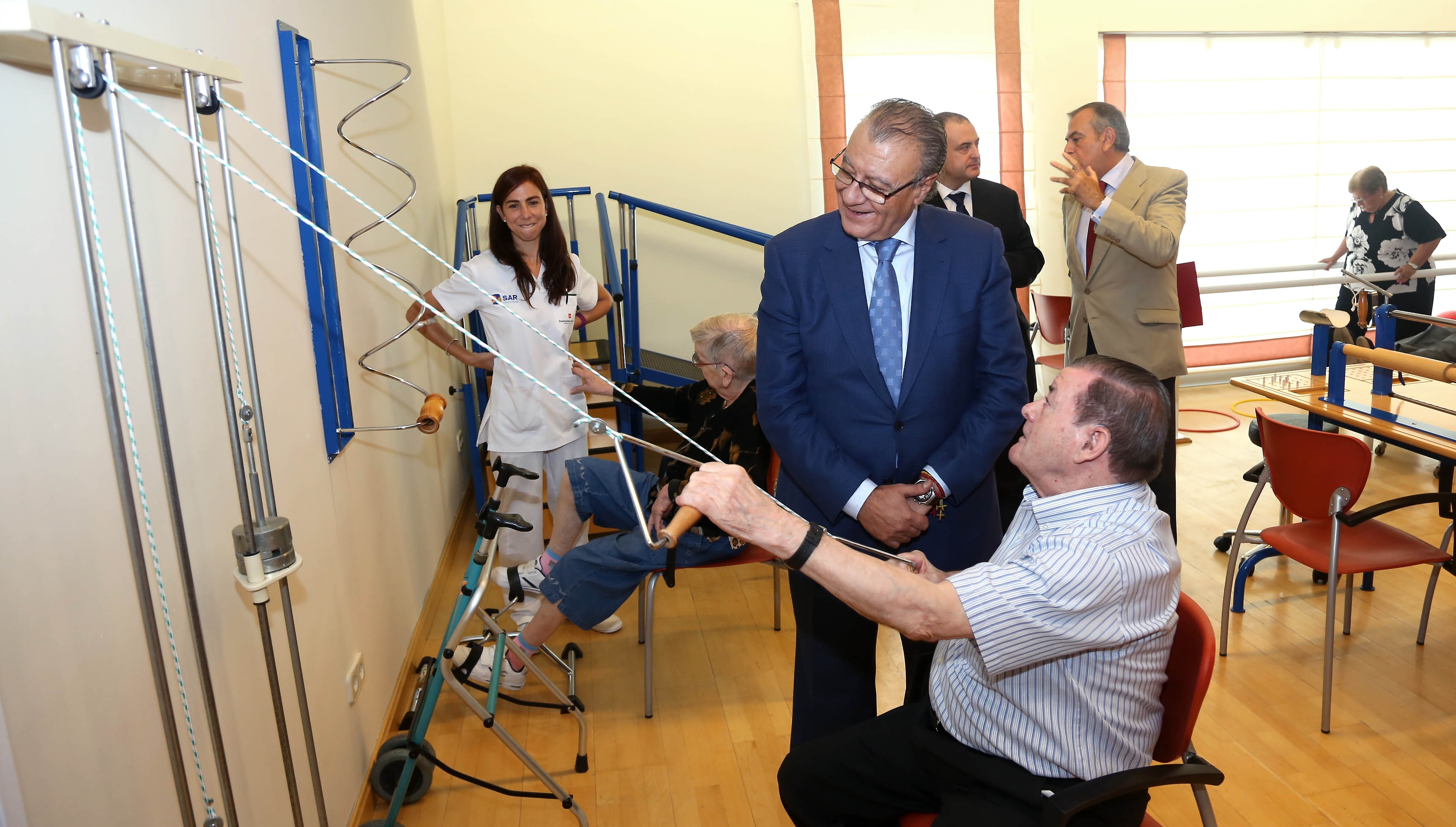 Inauguración Villanueva Alzheimer