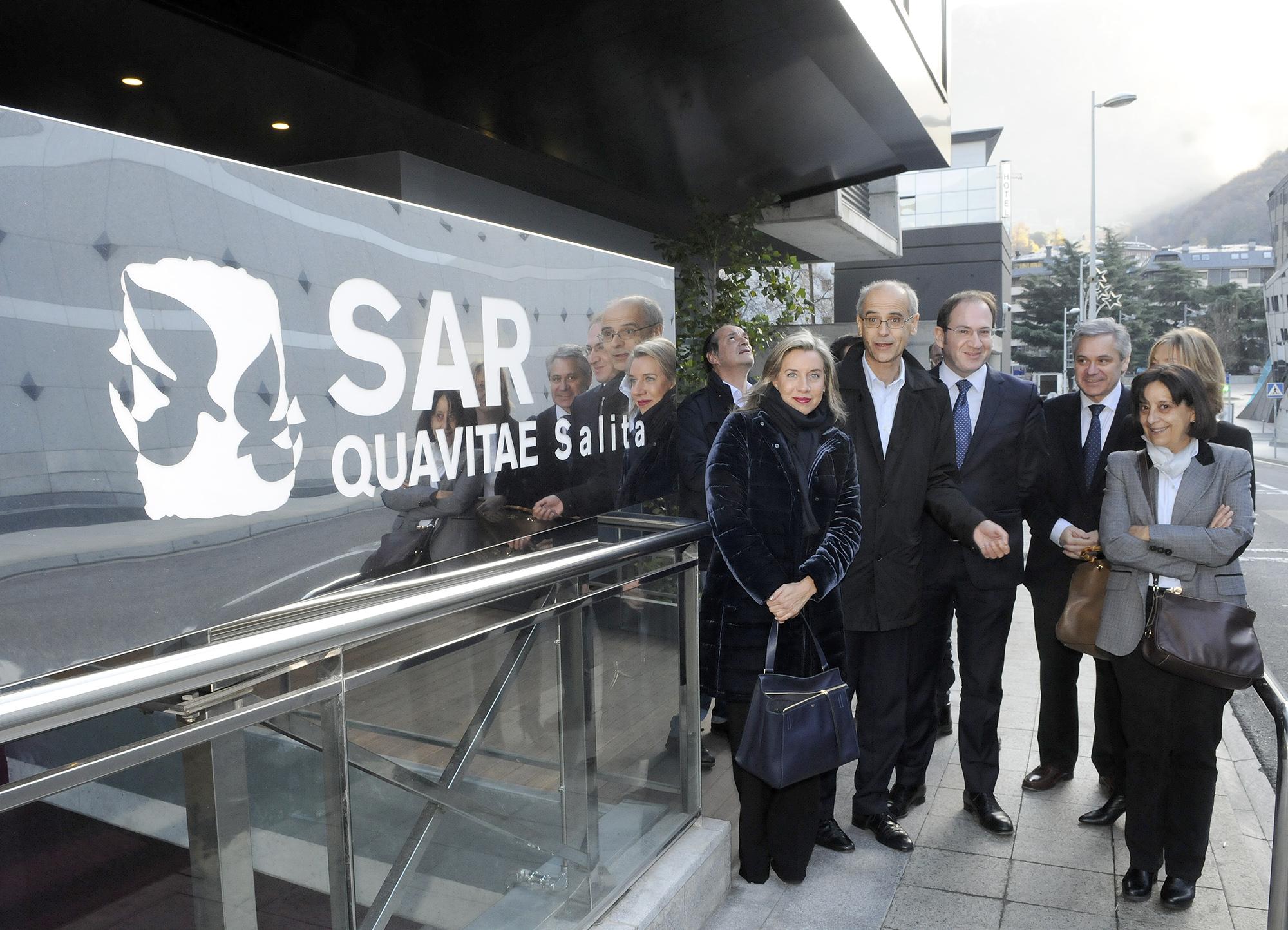 Visita centre sociosanitari La Salita.04-12-2015