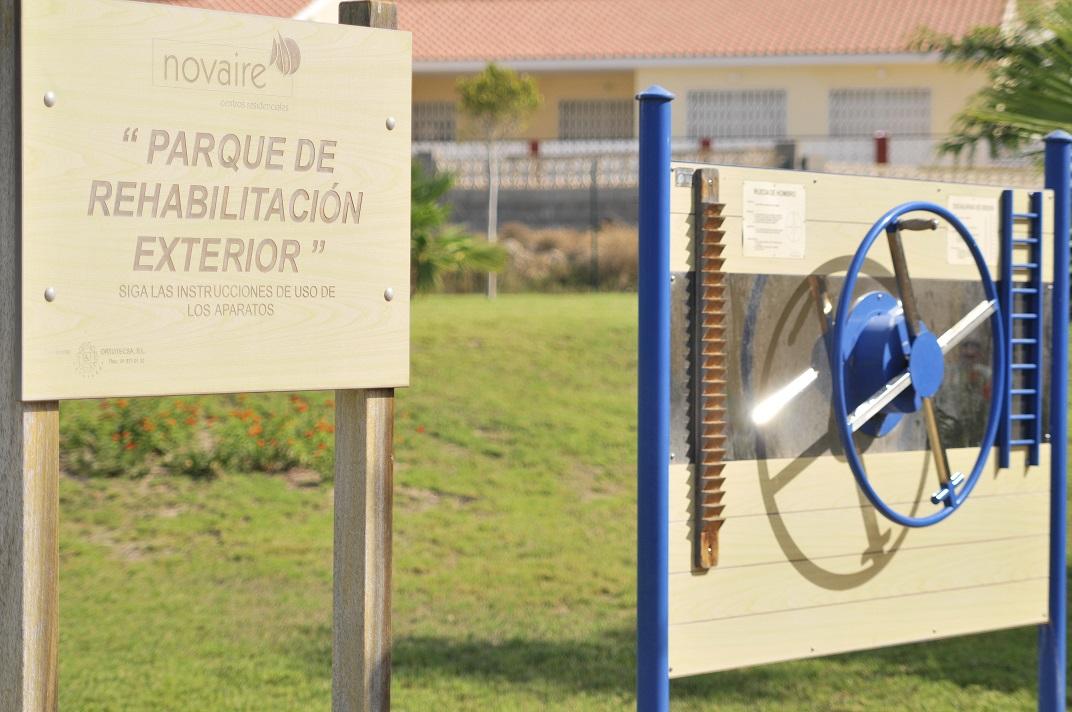 Residencias Ancianos Alicante - Jardín rehabilitación