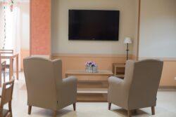 Residencia mayores Elche Carrús sala de estar