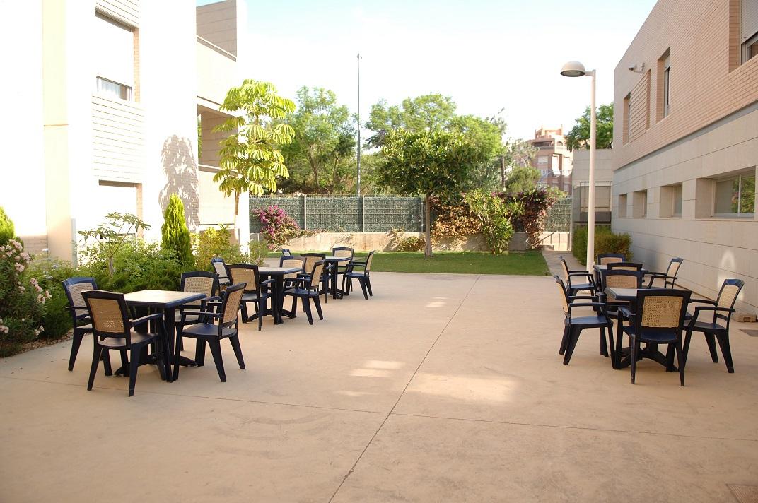 Residencia Ancianos Alicante - Terraza