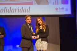 Premio a la Solidaridad: Marina Peinado, Gerocultora de Novaire Alicante Condomina.
