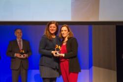 Premio a la Profesionalidad: Santiaga Campillo, Coordinadora de enfermería de SARquavitae Monteval, Valdepeñas.