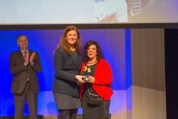 Premio a la Empatía: Desirée Cury, Coordinadora del Servicio de Ayuda a Domicilio de San Cristóbal de la Lagura, Tenerife.