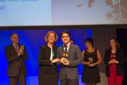 Premio al Respeto: Daniel Peña, auxiliar de SARquavitae Ciudad de las Artes, Valencia.