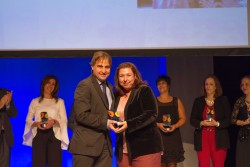 Premio al Optimismo: Victoria Bravo, Operadora de Teleasistencia de Madrid.