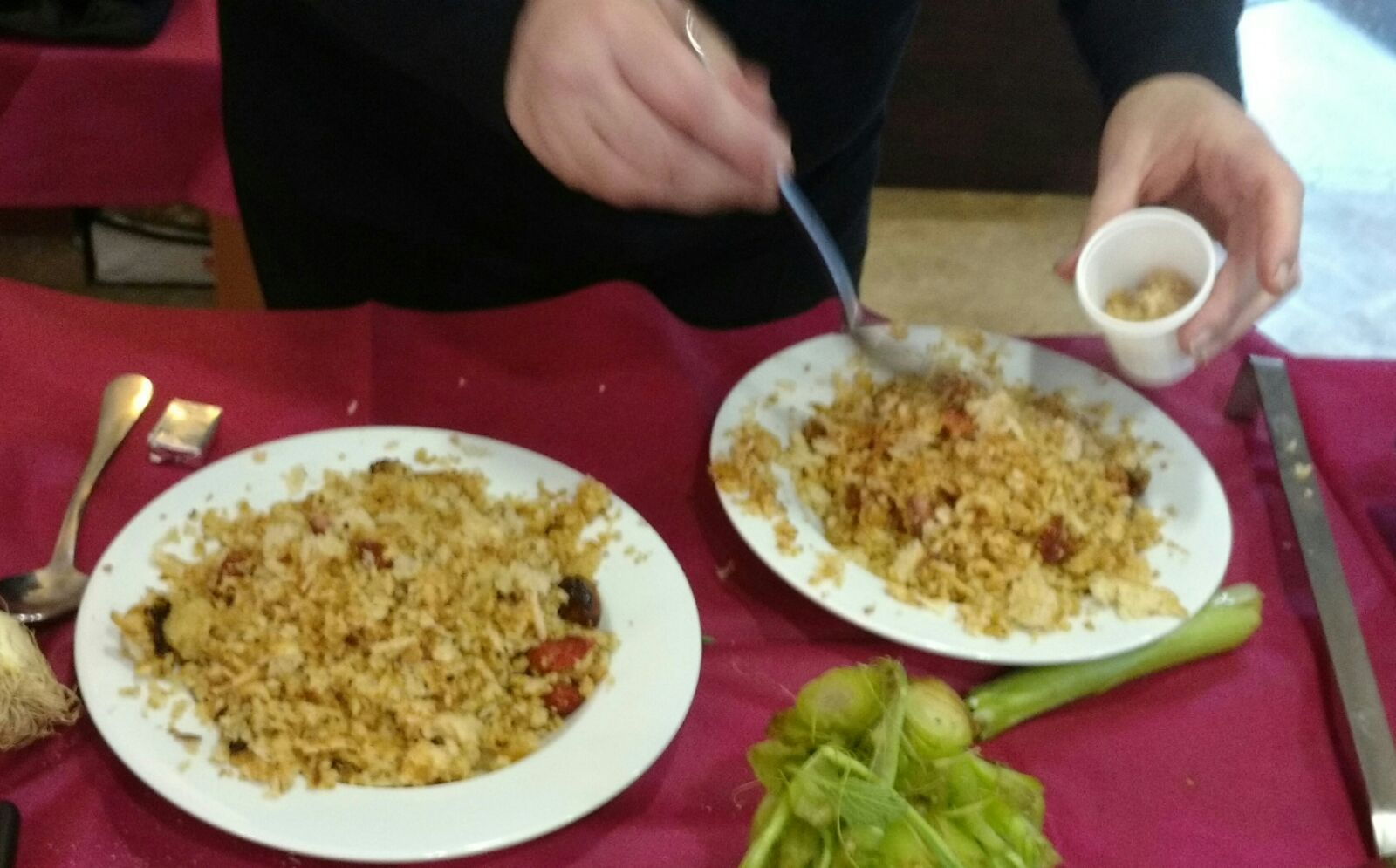 160316 Fontibre Show cooking5