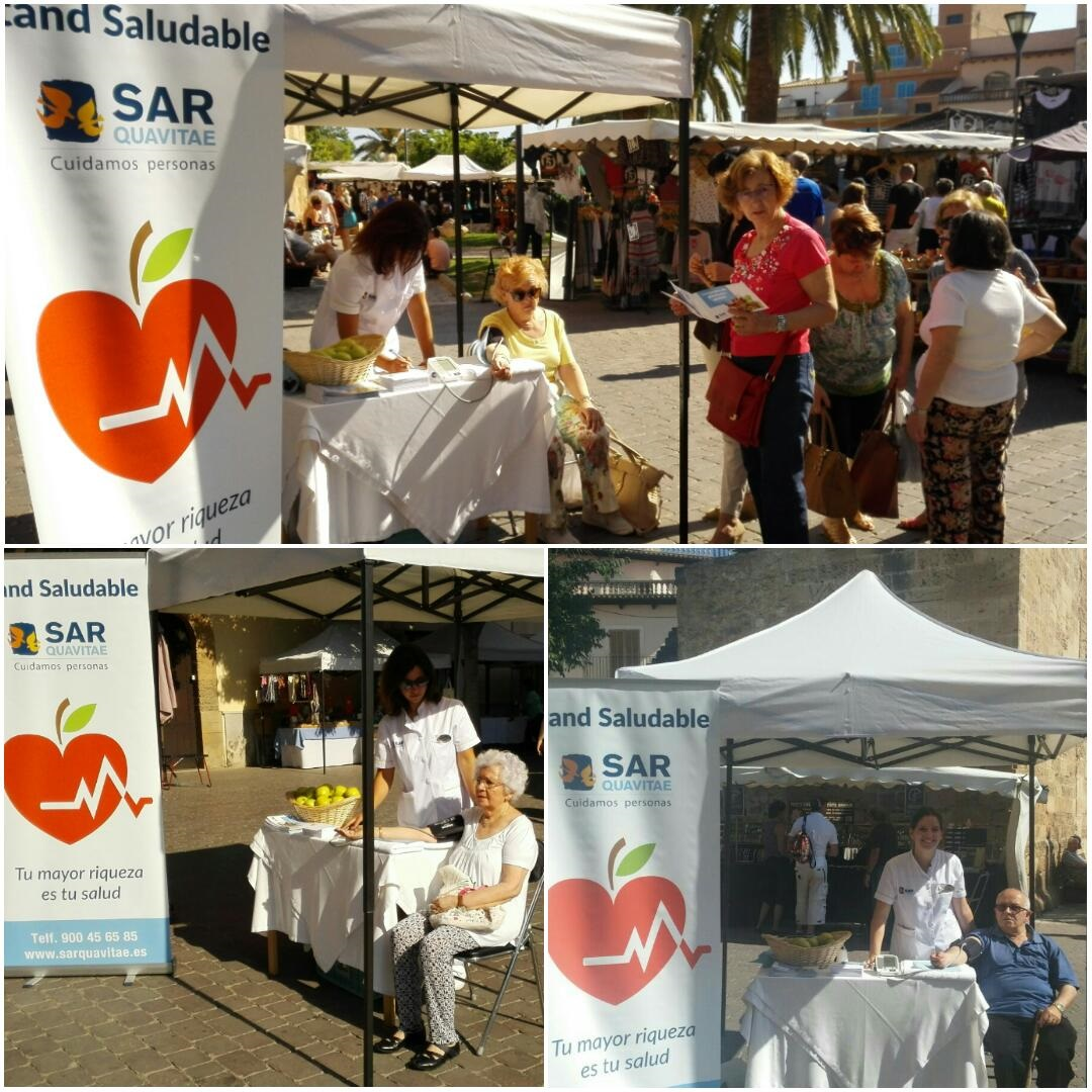 Alcudia Stand saludable