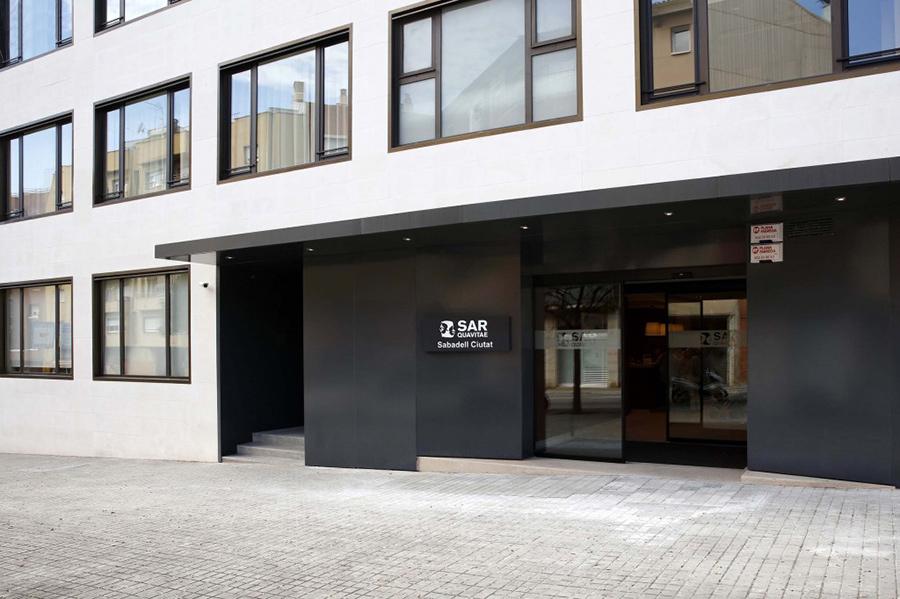Residencias de Ancianos Sabadell - edificios