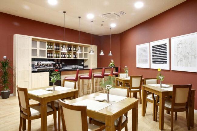 Residencias de Ancianos Sabadell - cafetería