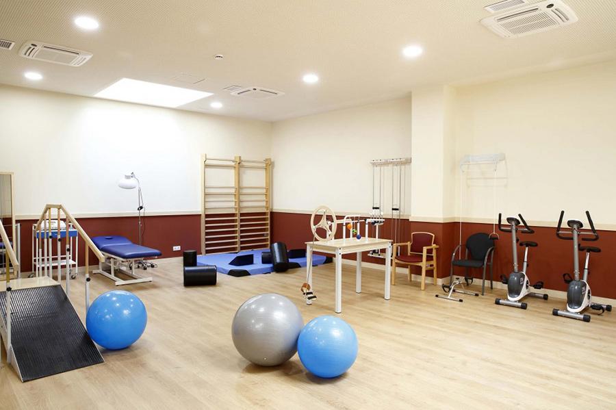 Residencias de Ancianos Sabadell - gimnasio