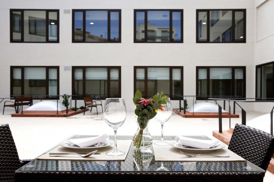 Residencias de Ancianos Sabadell - terraza