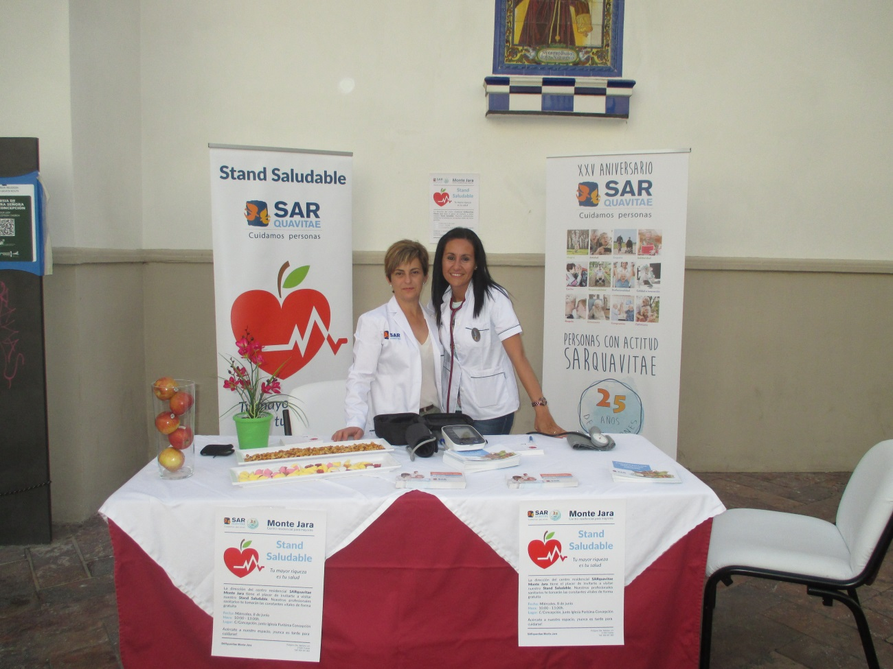 Monte Jara Stand saludable
