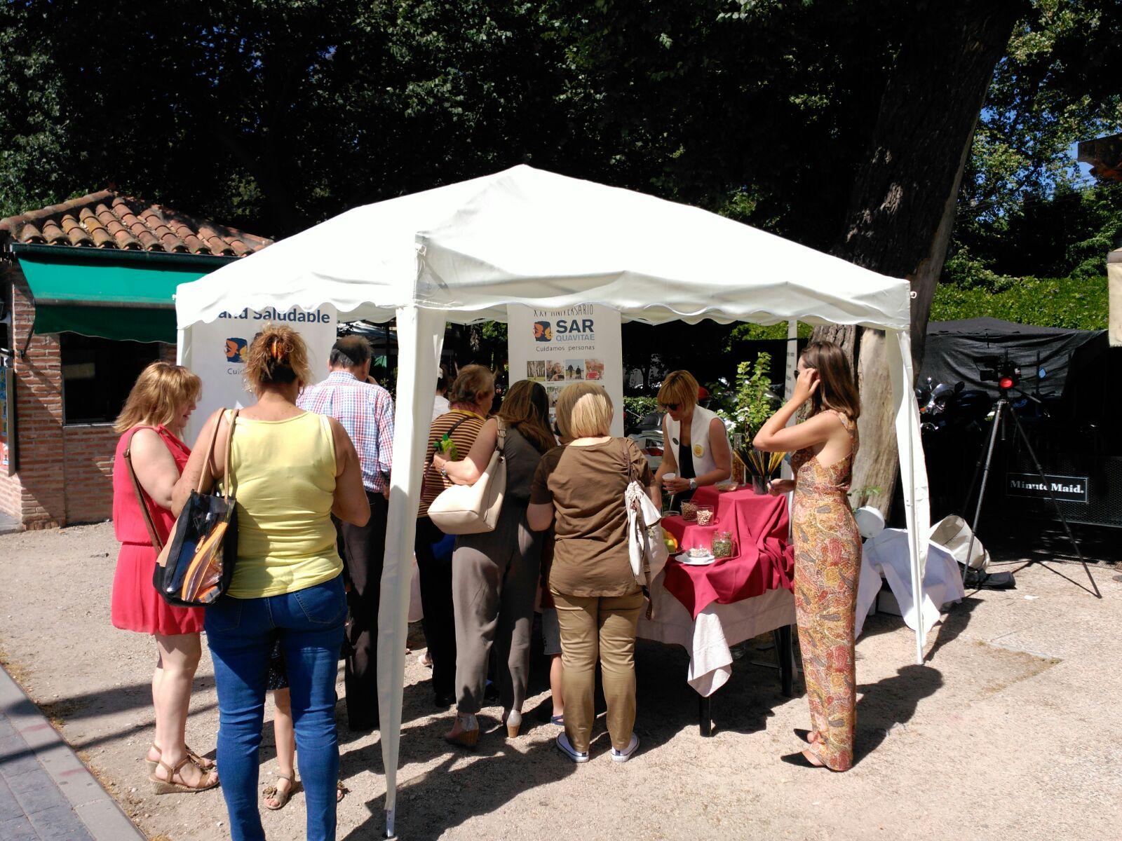 Parque Gavilanes Stand saludable1