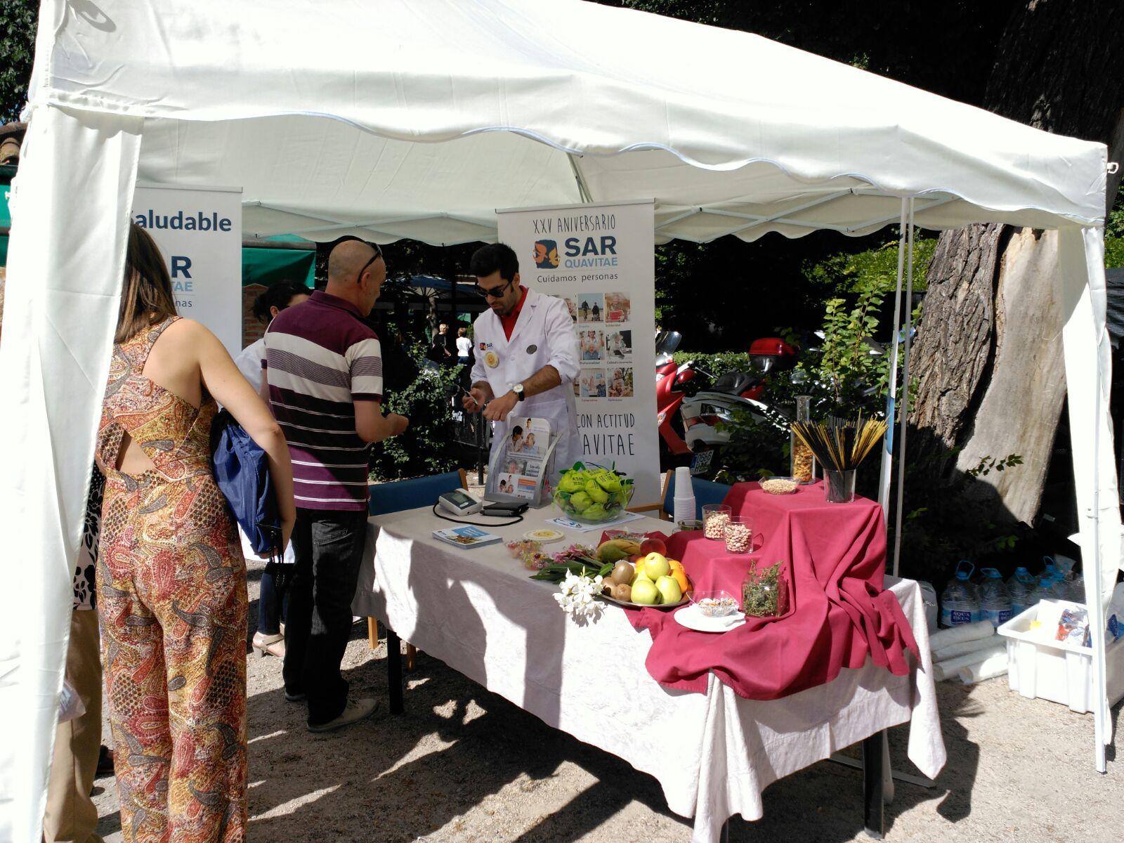 Parque Gavilanes Stand saludable2