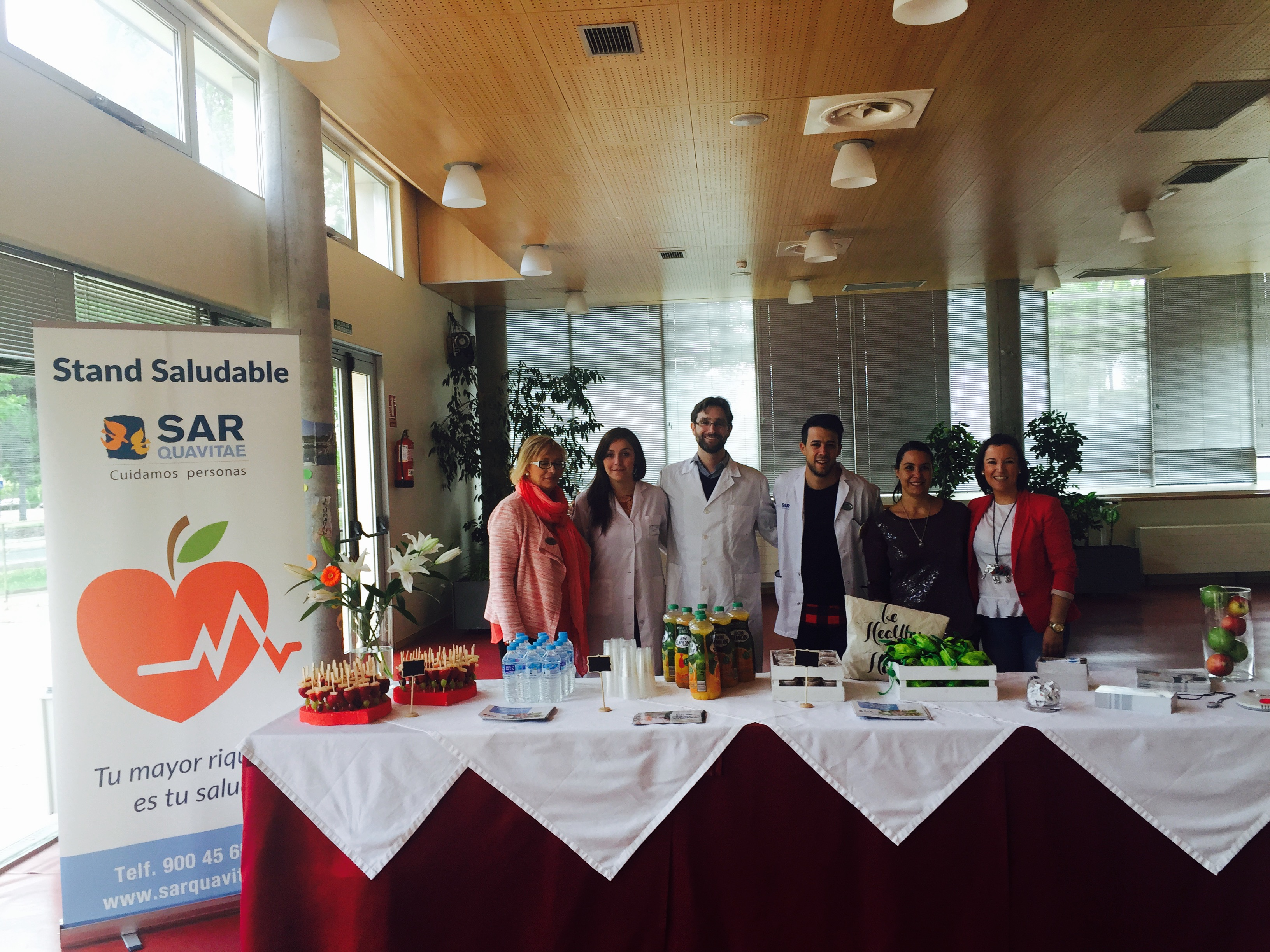 Tres Cantos Stand saludable9