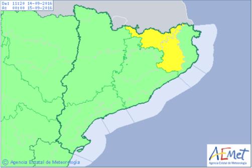 Detalle Mapa de AEMET