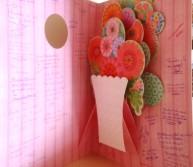 tarjeta flores cent